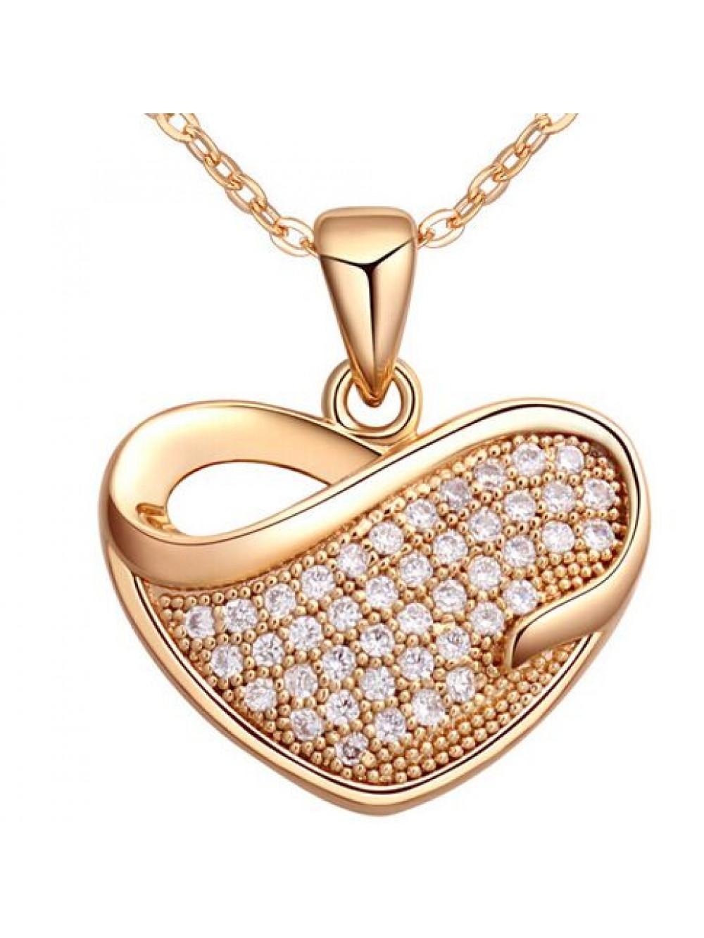 Náhrdelník Láska zlatý