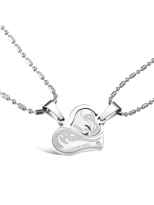Náhrdelník pre dvoch - Spoločné srdce