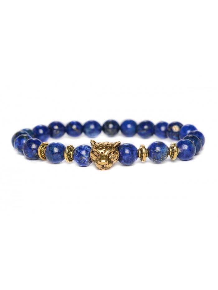 Náramok Jaguár - lapis lazuli