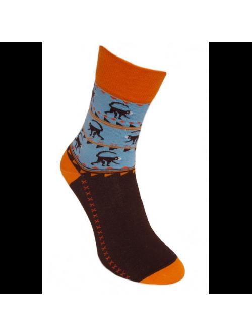 Ponožky Opičky Foxysoxy