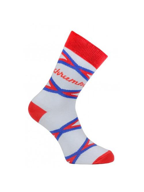 Ponožky Funnysox Chrumky červené