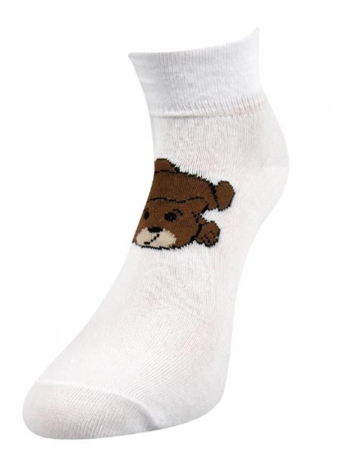 Ponožky Boma Bear White