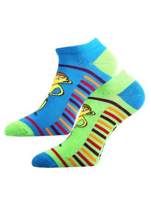 Ponožky Boma Lichožrúti modro - zelené