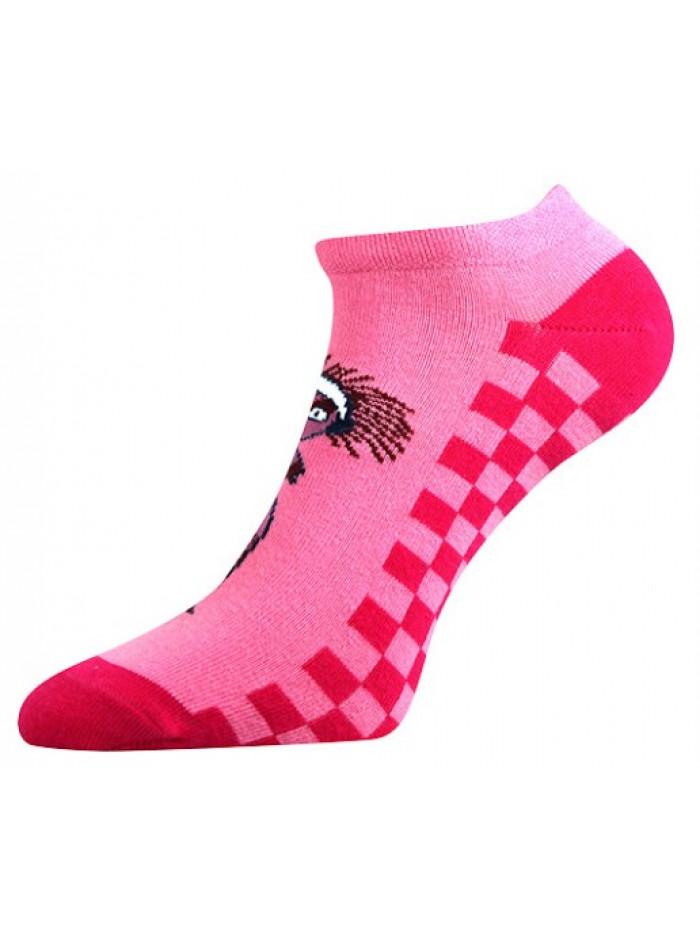 Ponožky Boma Lichožrúti ružové