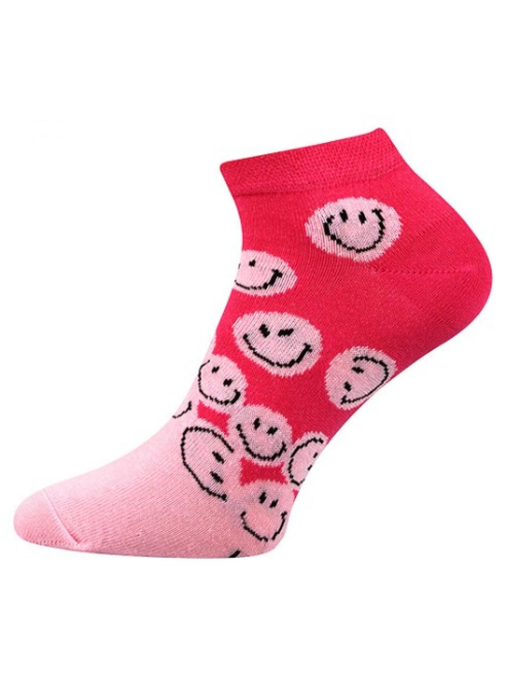 Ponožky Boma Smile Pink