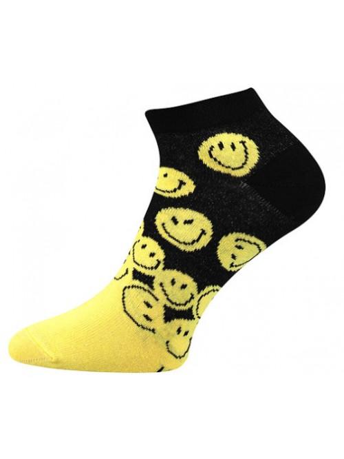 Ponožky Boma Smile Yellow