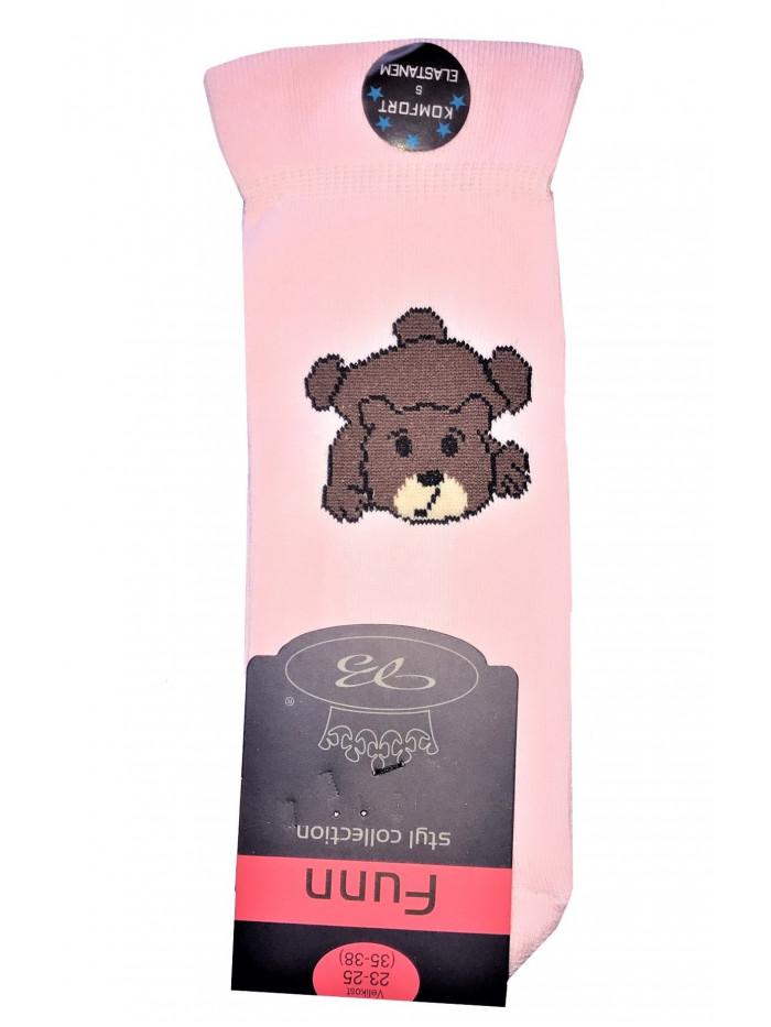 Ponožky Boma Bear Pink