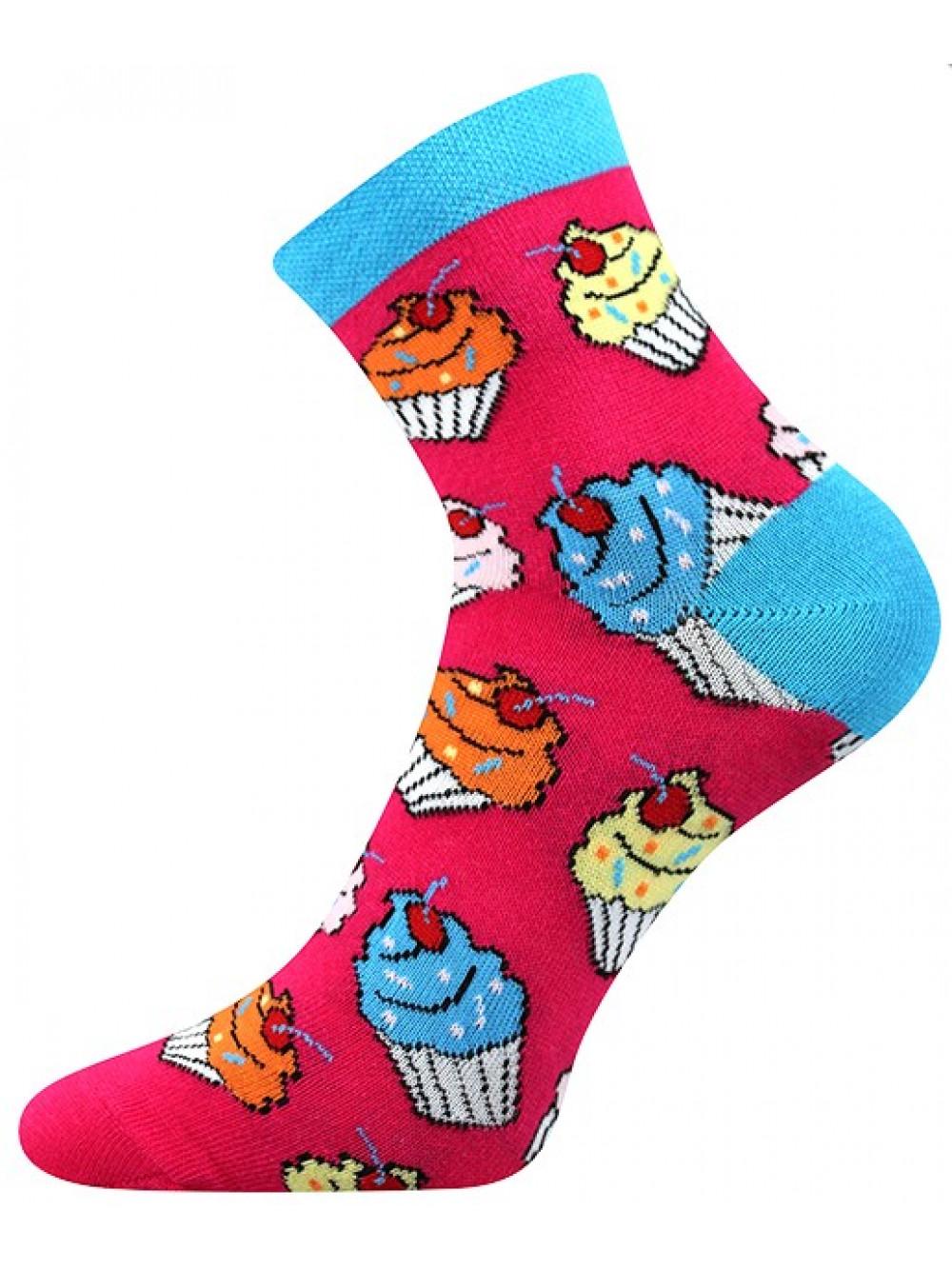 Ponožky Boma Cupcake