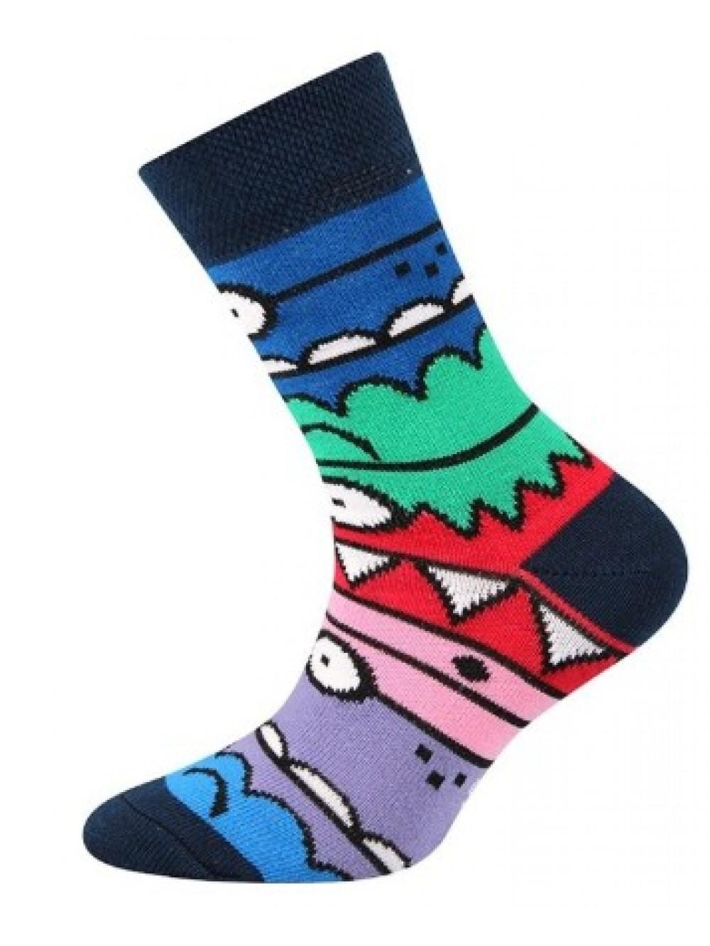 Ponožky Boma Monster Dark Blue