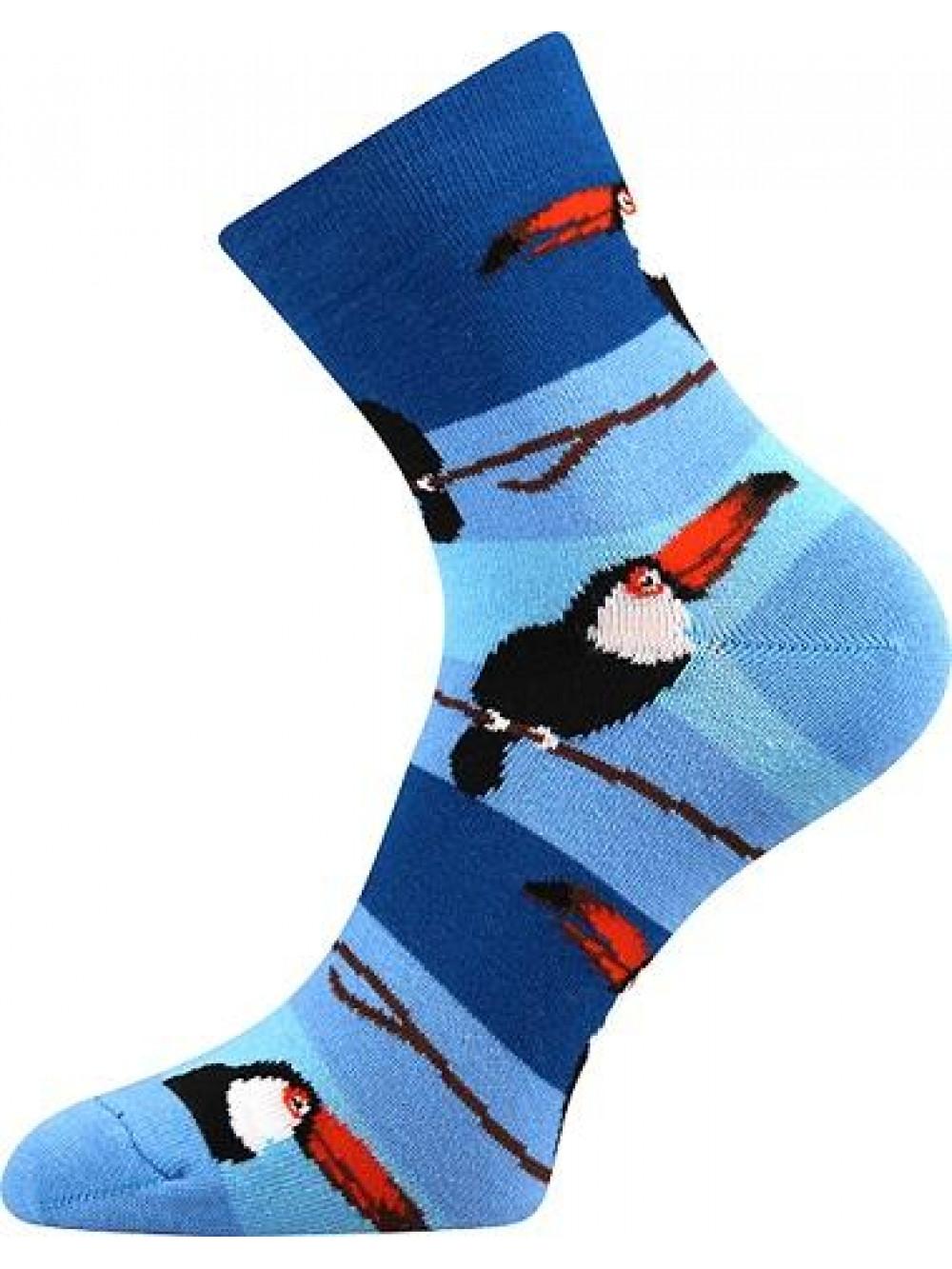 Ponožky Boma Parrot Blue