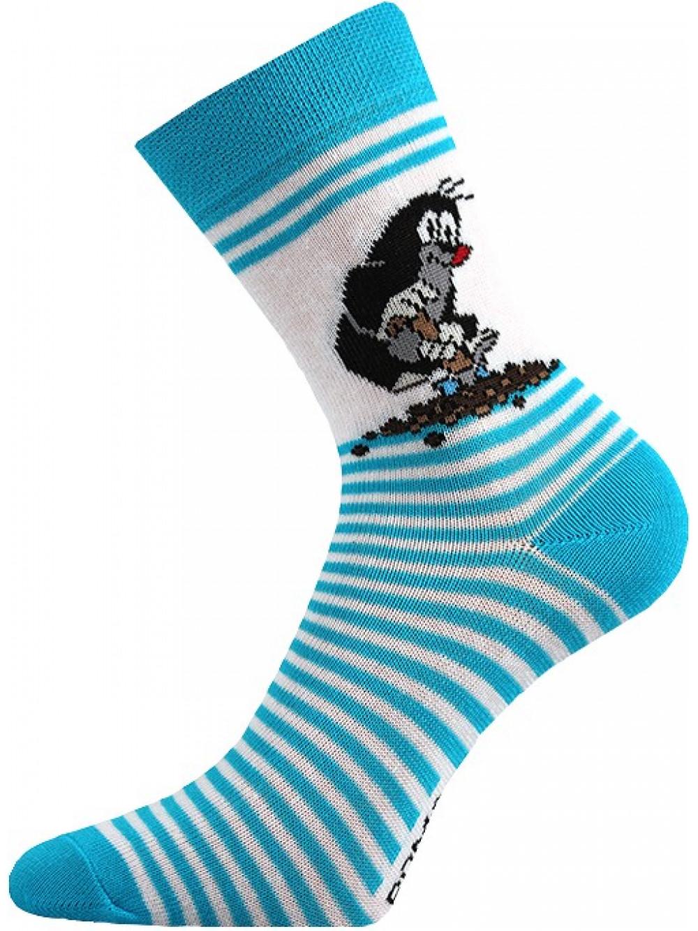 Detské ponožky Boma Krtko Tyrkys