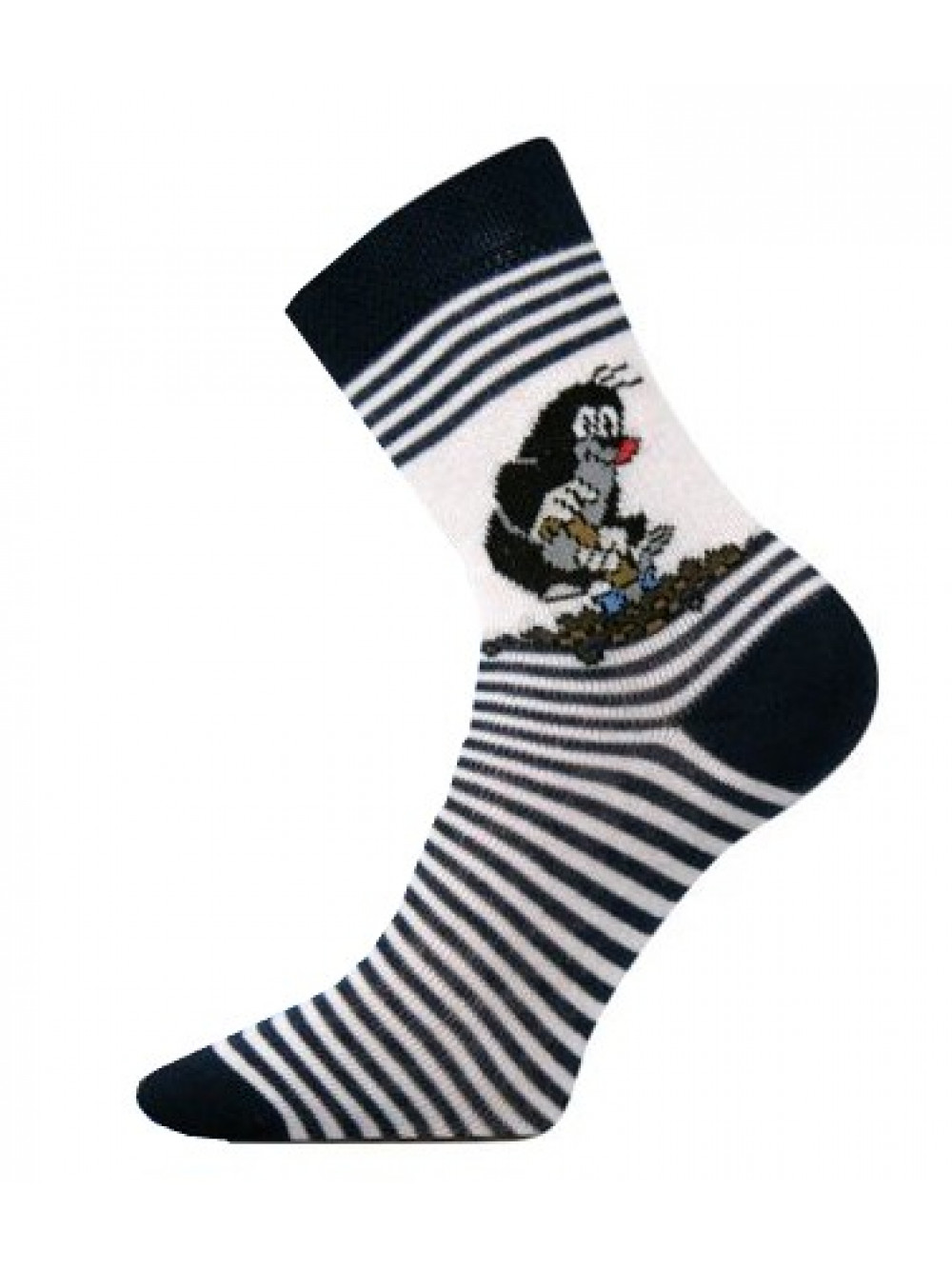 Detské ponožky Boma Krtko Tmavomodré