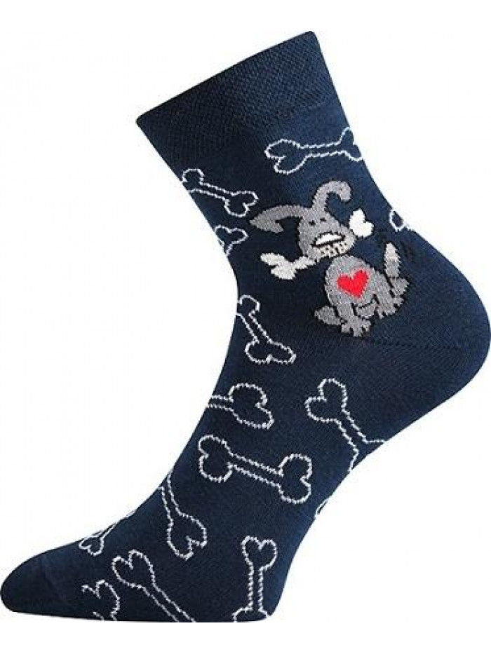 Ponožky Boma Dog Dark Blue