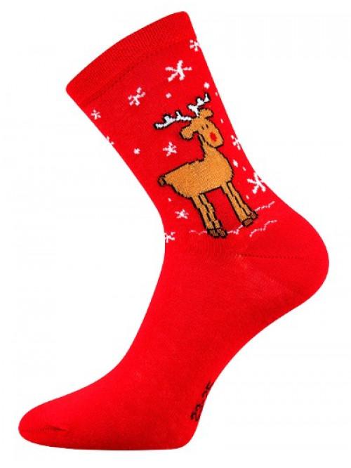 Vianočné ponožky Boma Sobík