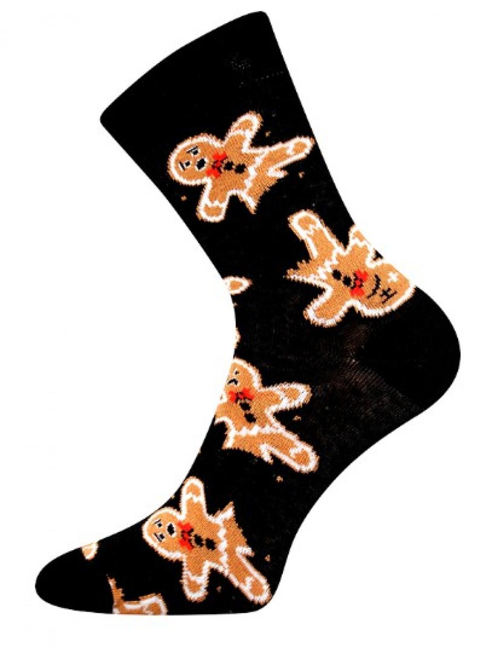 Vianočné ponožky Boma Medovníček