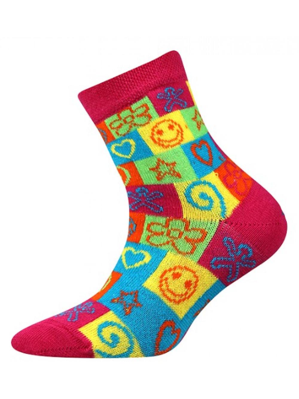Detské ponožky Boma Larik Hippies