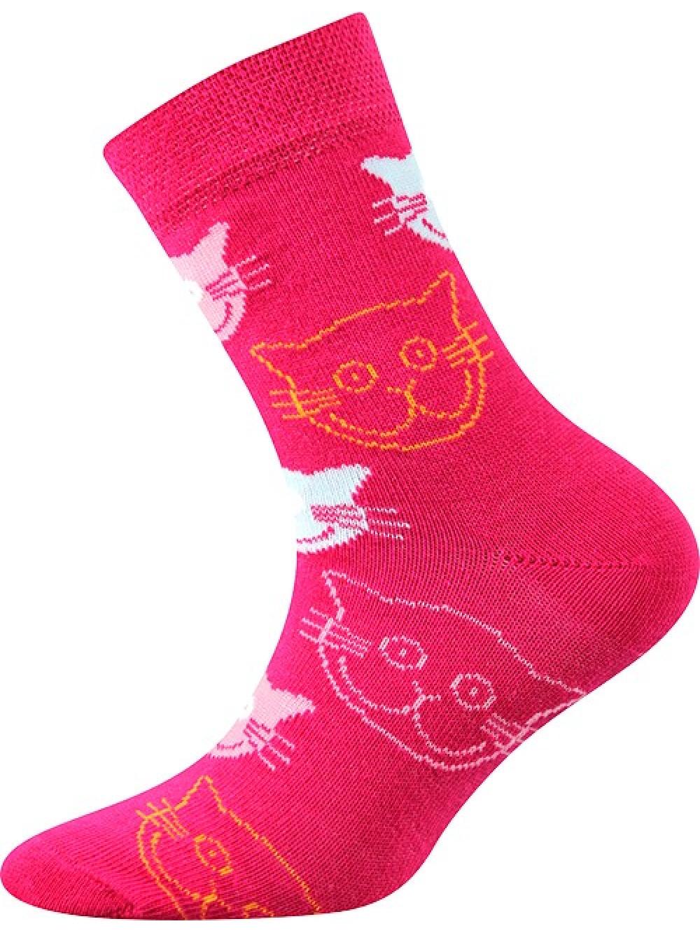 Detské ponožky Boma Mačička