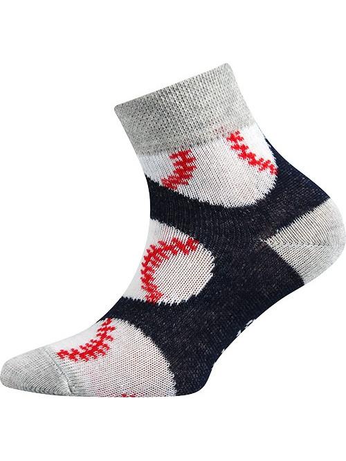 Detské ponožky Boma Baseball