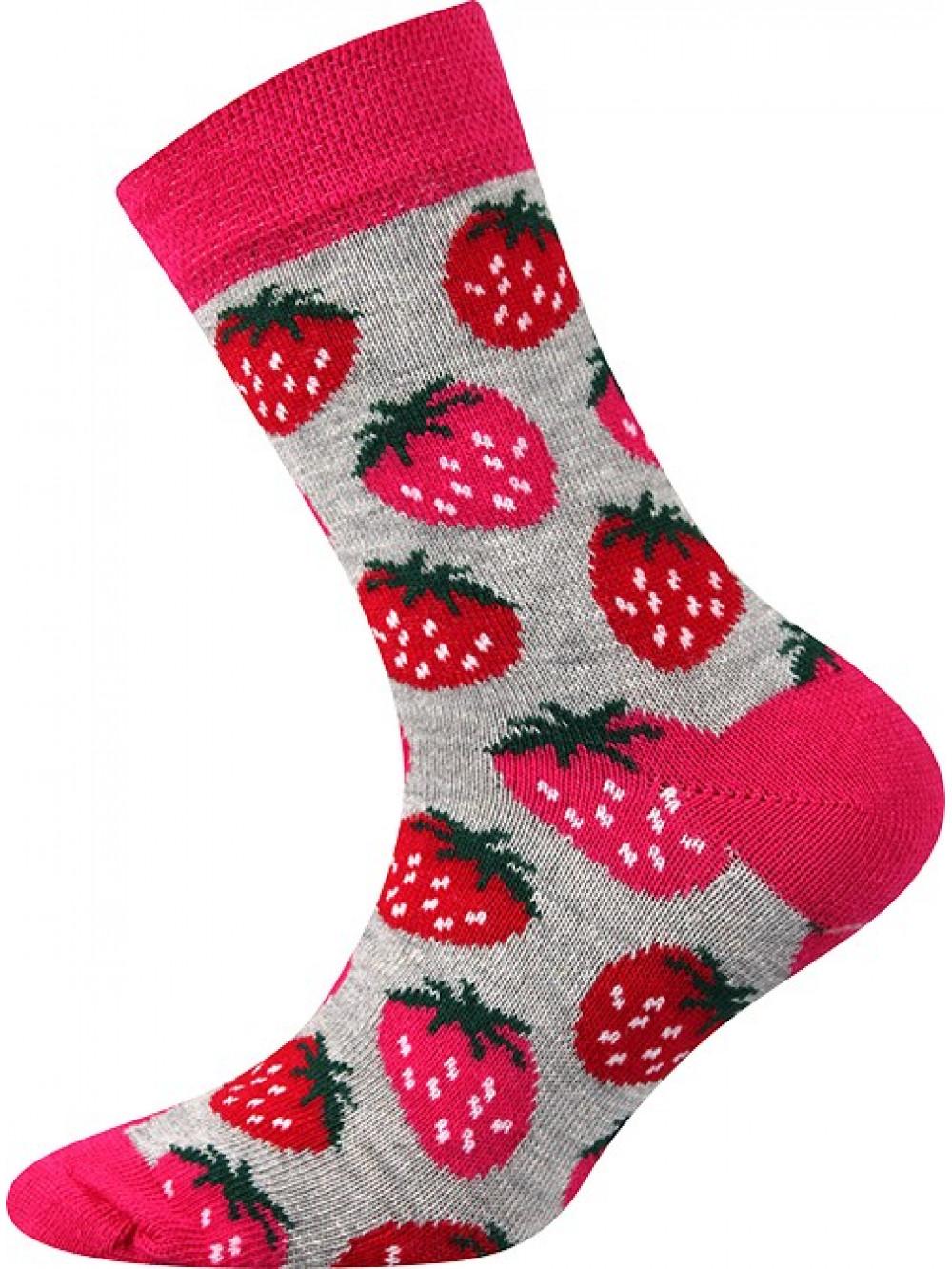 Detské ponožky Boma Jahôdka