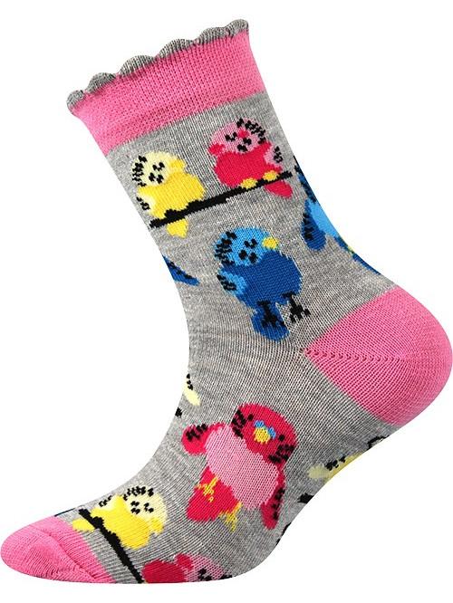 Detské ponožky Boma Vtáčik