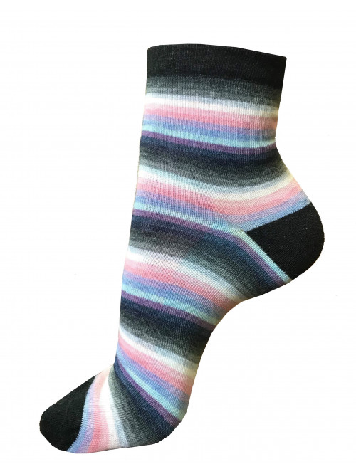 Ponožky Stripa Multicolor tmavé