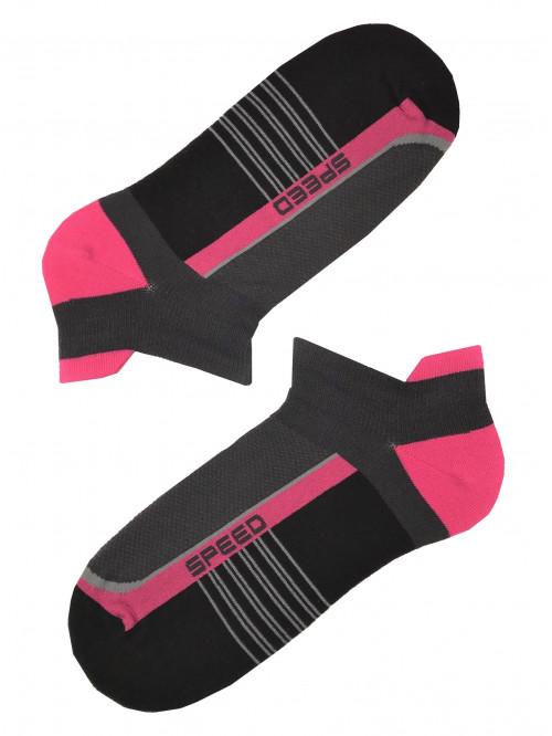 Ponožky Jasana Speed Black Pink