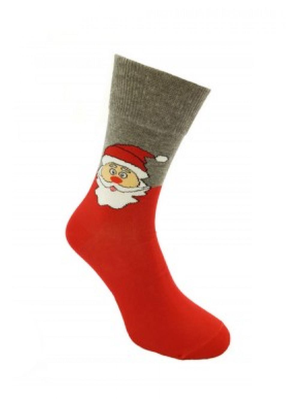 Ponožky Foxysoxy Mikuláš Červené
