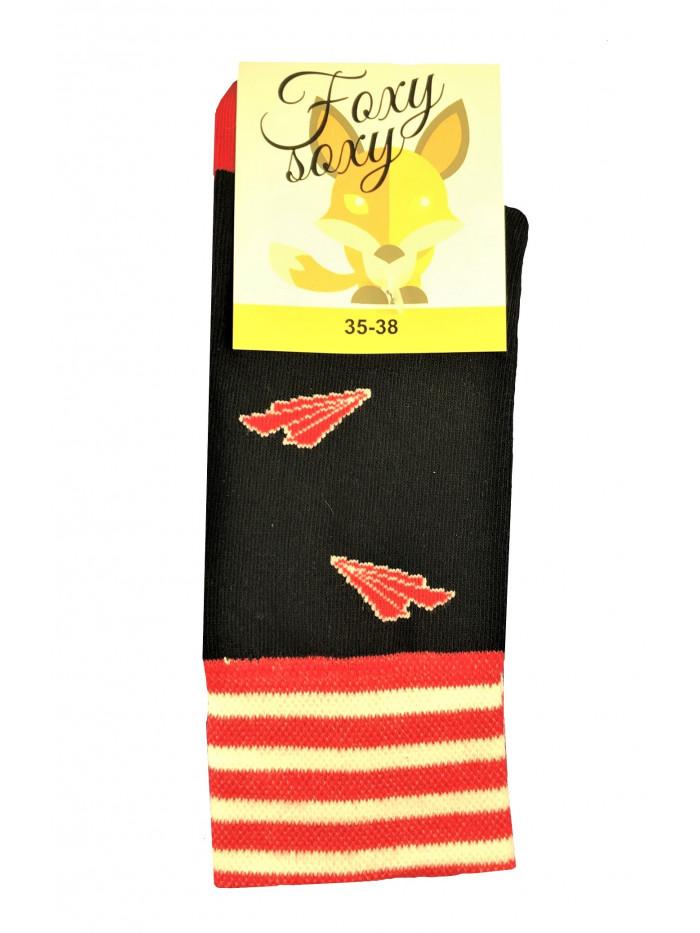 Ponožky Foxysoxy Lietadielko modré
