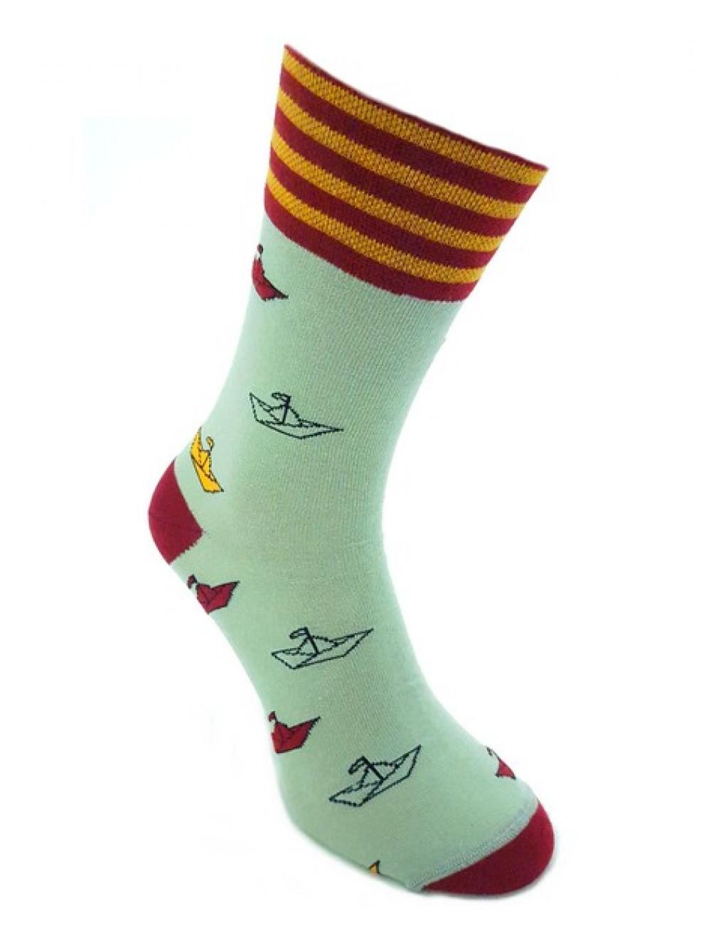 Ponožky Foxysoxy Lodičky olivové