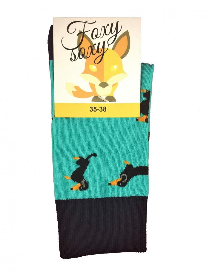 Ponožky Jazvečík Foxysoxy