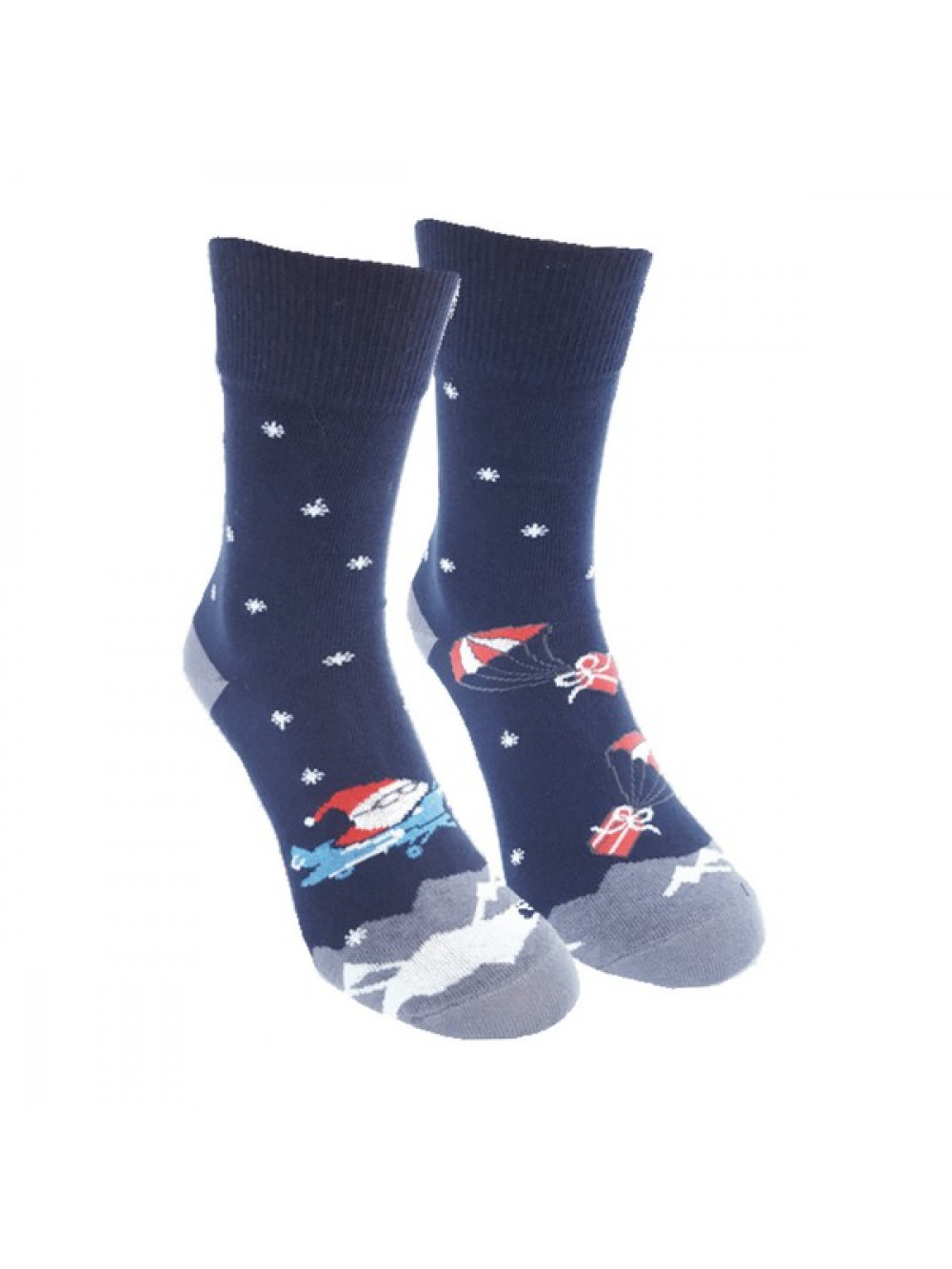 Ponožky Foxysoxy Lietajúci Mikuláš Modré