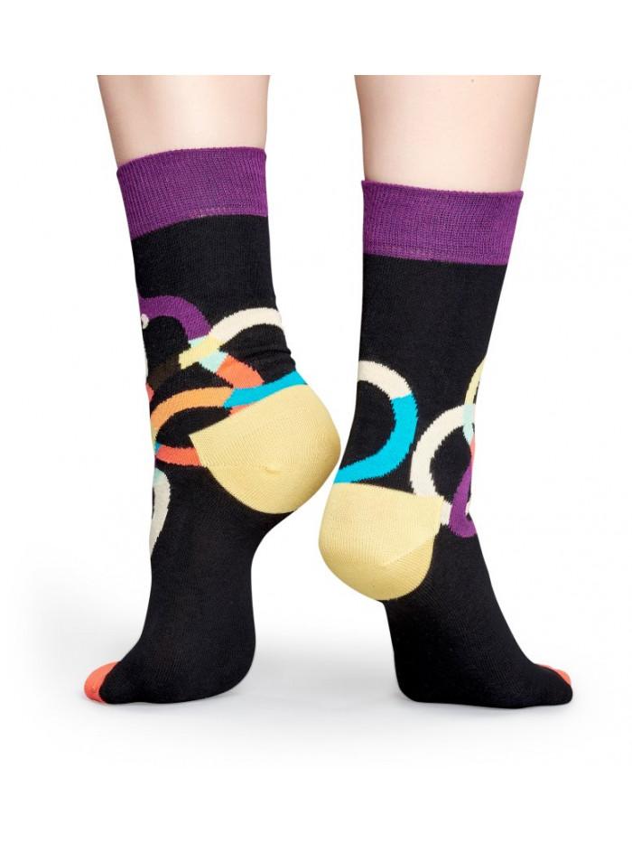Ponožky Happy Socks Wiener Dog Black