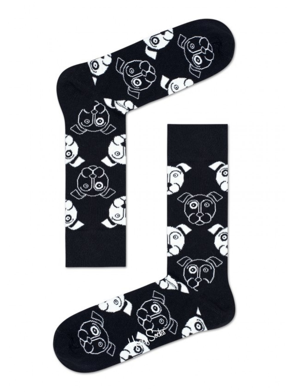 Ponožky Happy socks Dog Black