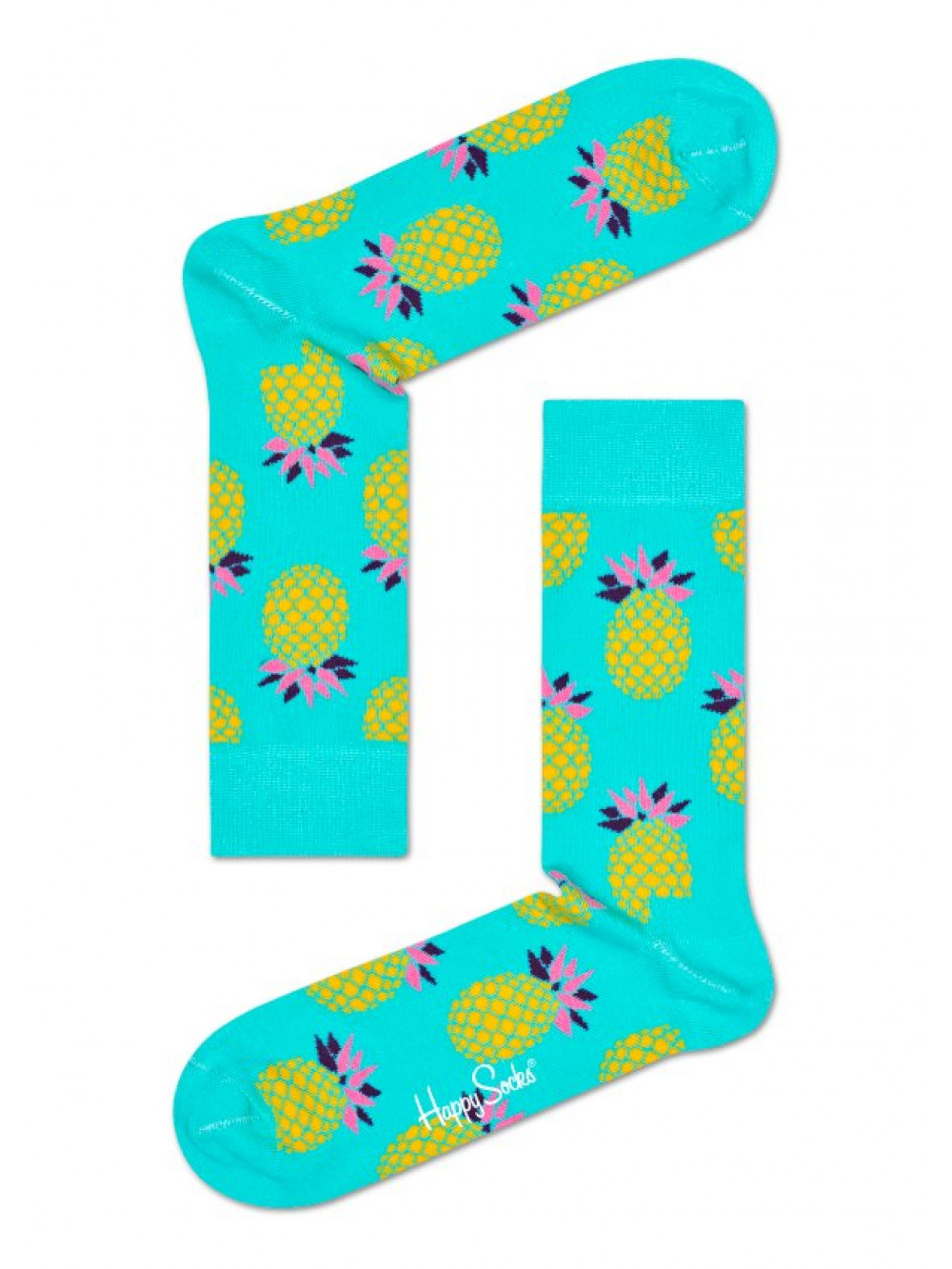 Ponožky Happy Socks Pineapple Tyrkys