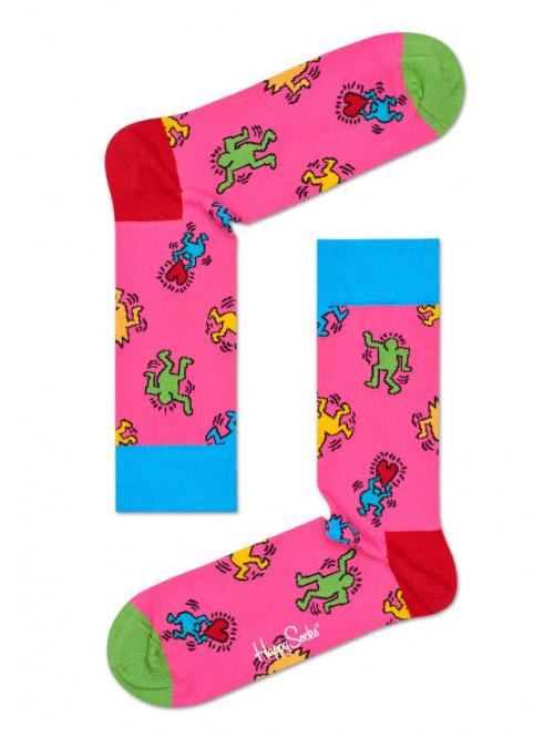 Ponožky Happy Socks Valentine's Day Pink