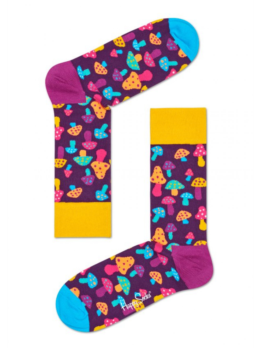 Ponožky Happy Socks Mashroom Purple