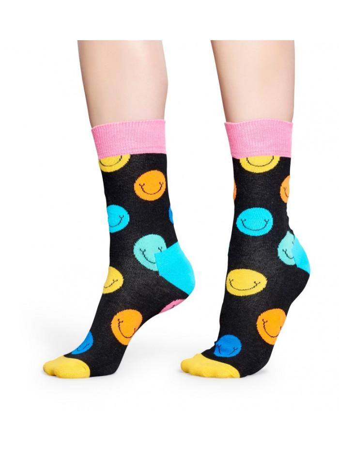 Ponožky Happy Socks Smile Black