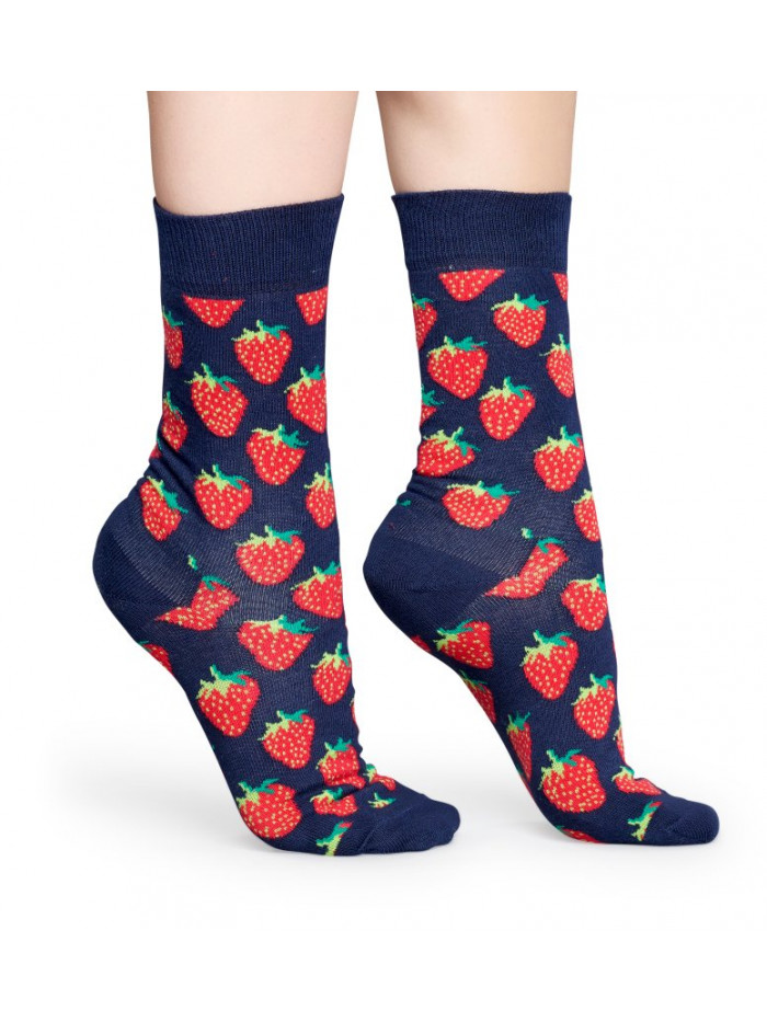 Ponožky Happy Socks Strawberry Blue
