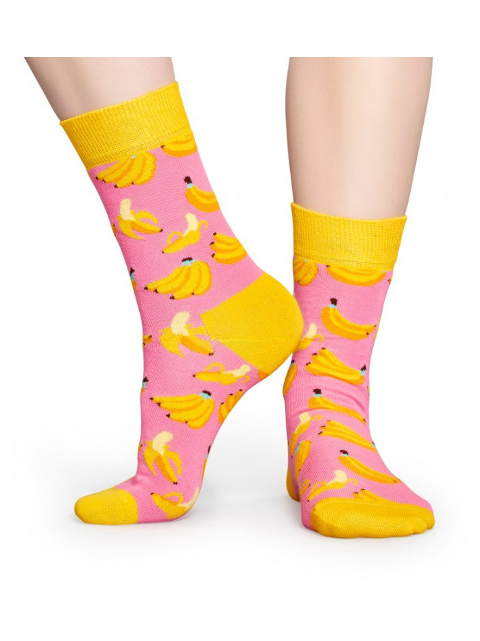Ponožky Happy Socks Banana Pink