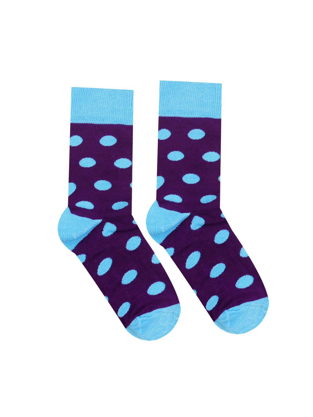 Ponožky Hesty Socks Bodky Fialky