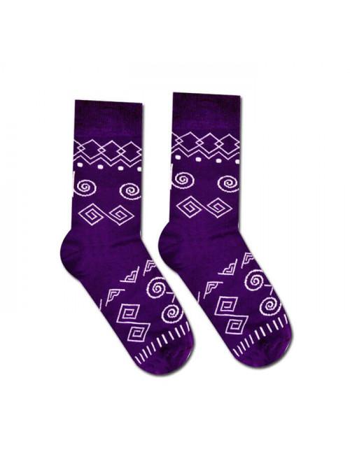 Ponožky Hesty Socks Čičman fialový