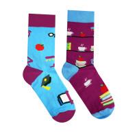 Ponožky Knihomoľ Hesty Socks