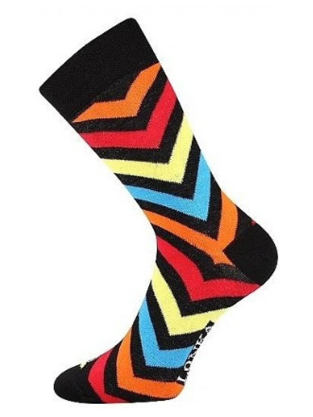 Ponožky Lonka Striped Black