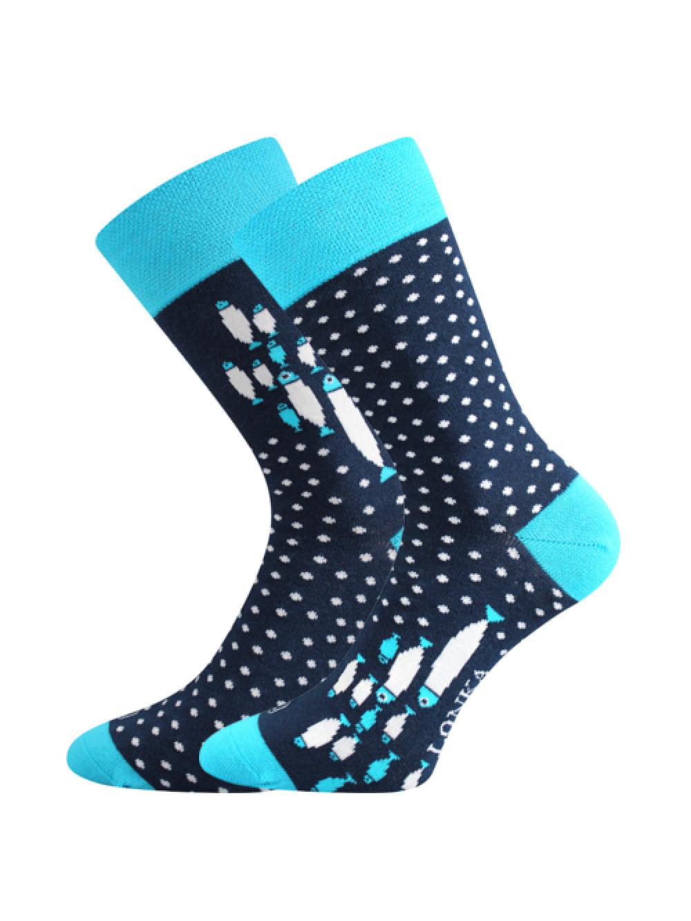Ponožky Lonka Doble Rybičky
