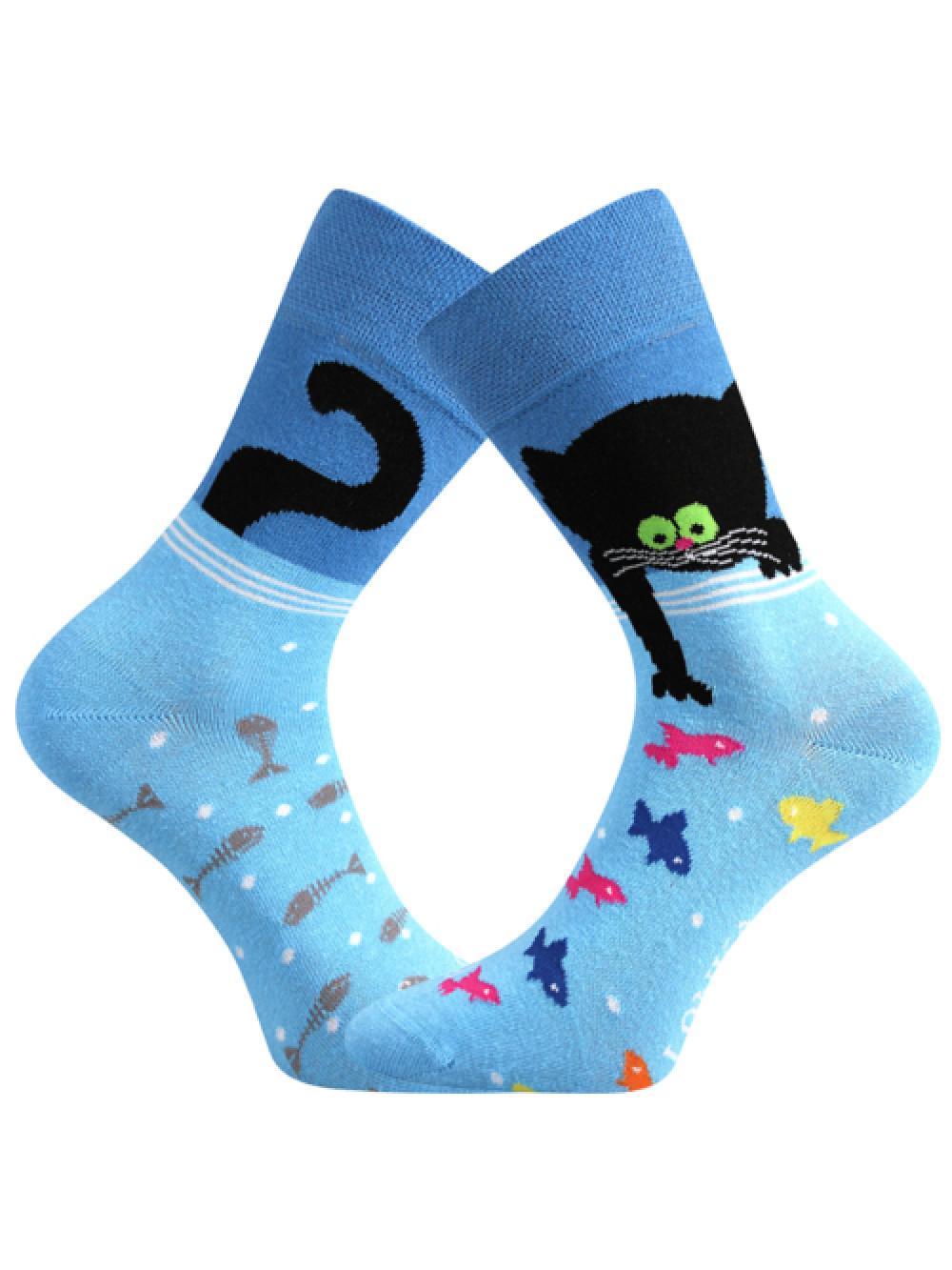 Ponožky Lonka Doble Kocúrik