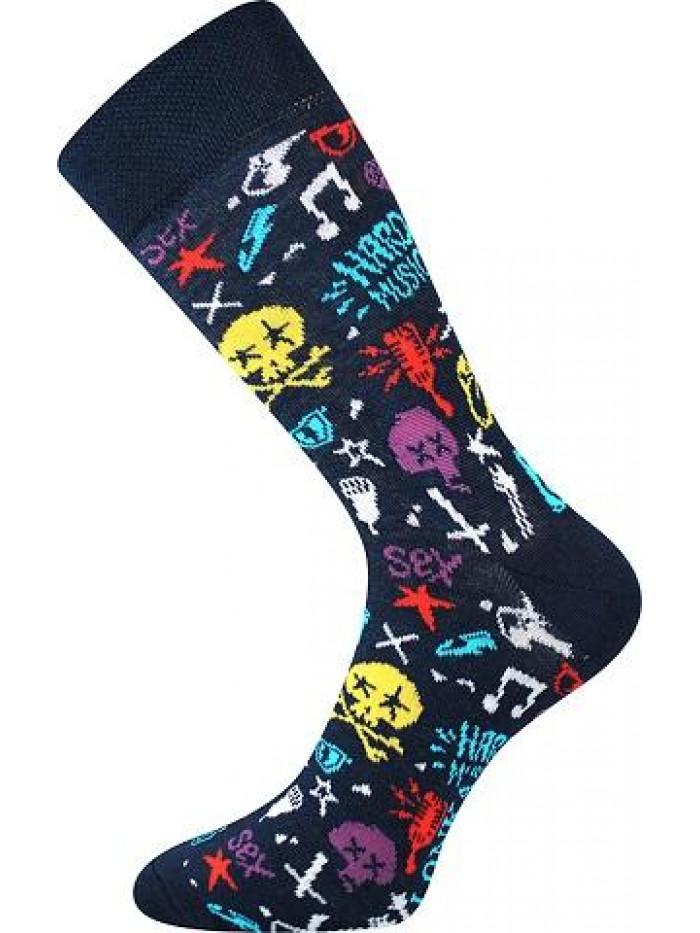 Ponožky Lonka Hard Rock Blue