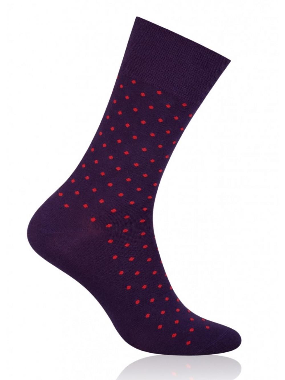 Ponožky More Dot fialové