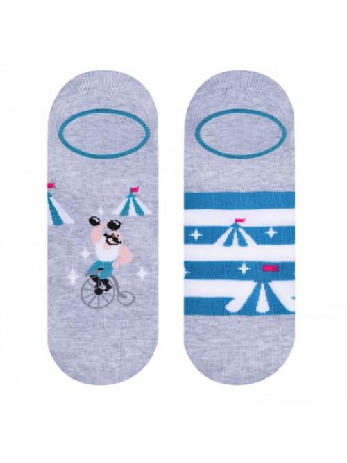 Ponožky More Cirkus sivé