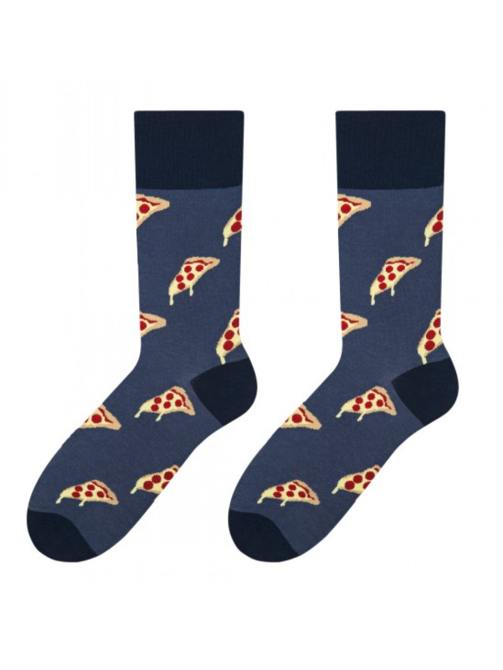 Ponožky More Pizza Blue
