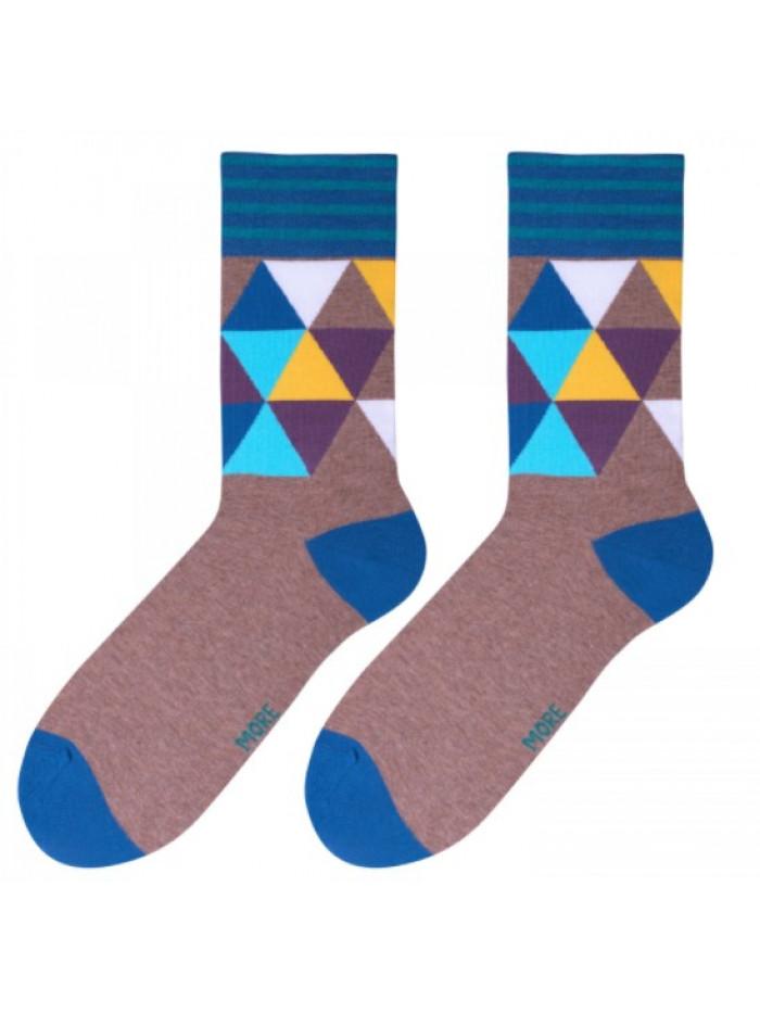 Ponožky More Art hnedé